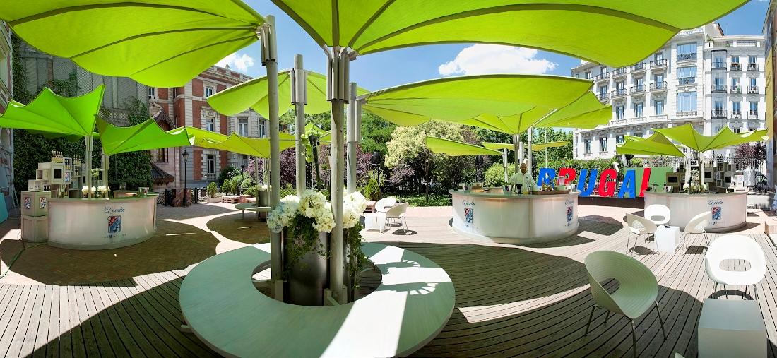 Las terrazas m s chic de 2010 te veo en madridte veo en for Restaurante casa america terraza