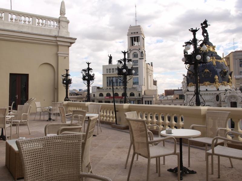 Las mejores terrazas en hoteles ii te veo en madridte - Terrazas aticos madrid ...
