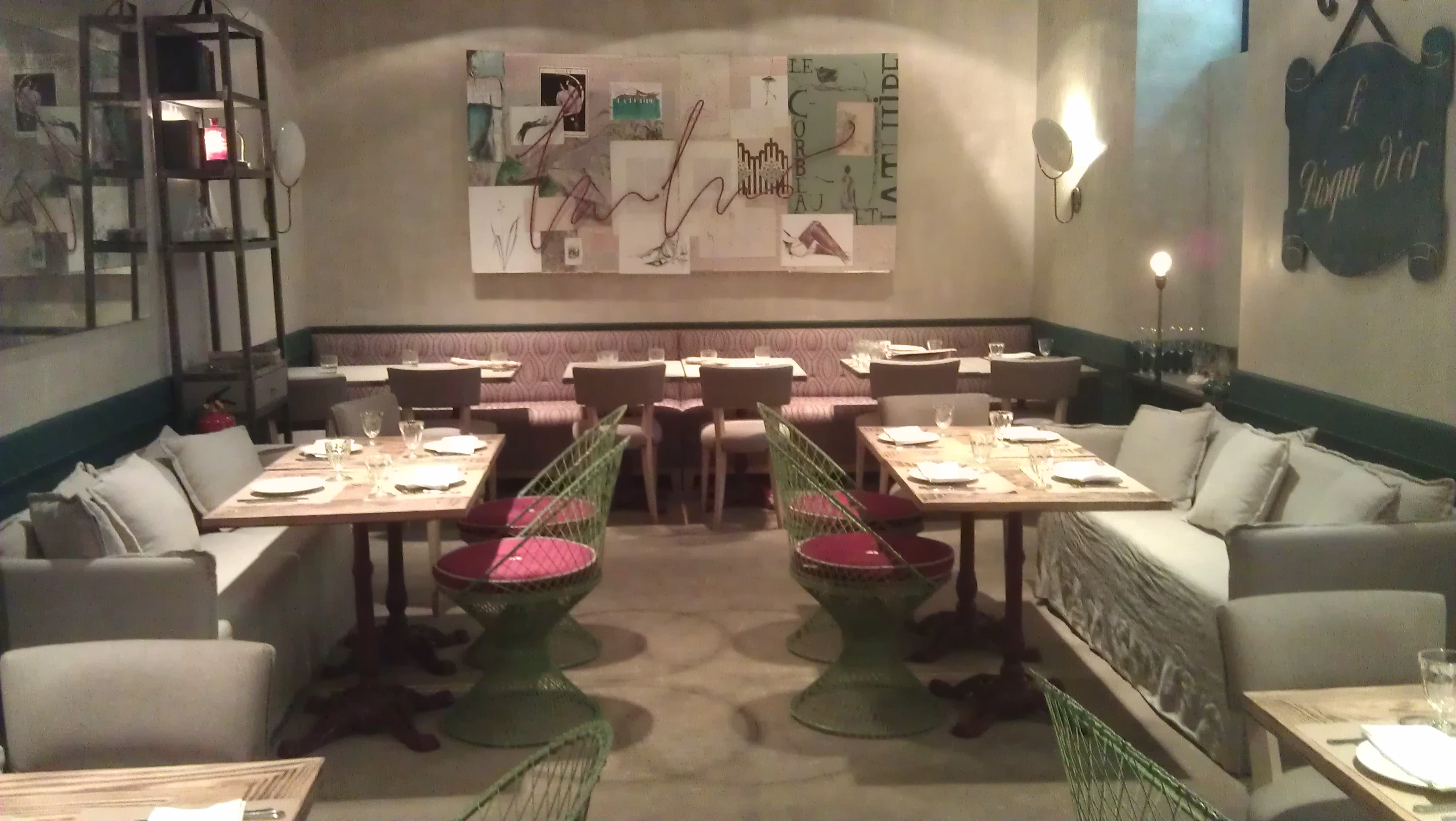La tulipe un restaurante franc s con terraza en serrano for Restaurante frances