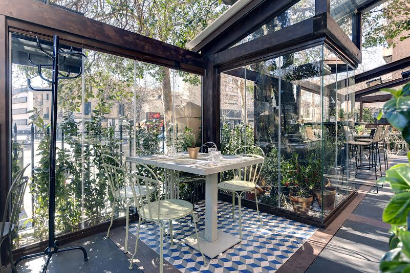El restaurante con terraza favorito de algunos amigos for Restaurante casa jardin