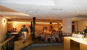Restaurante Rooster comedor Te Veo en Madrid