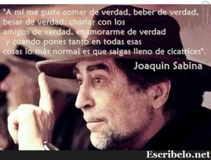 Concierto de Joaquin Sabina 25 de abril 2015 MAdrid