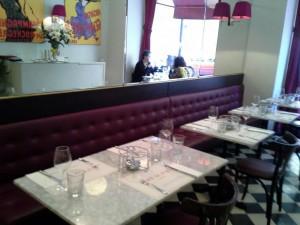 Léntrecot Café de París´comedor Te Veo en Madrid