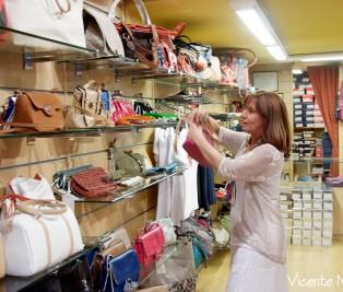 fotografías de la tienda de Almudena, zapatería de Madrid
