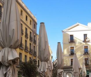Plaza de Platerias de Martinez. Bar plateria Te Veo en madrid