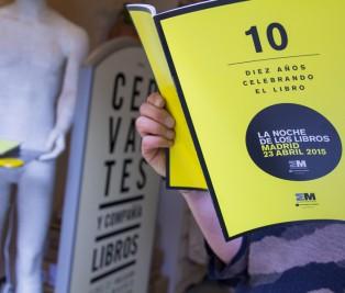 Décima edición de la Noche de los libros Te Veo en Madrid