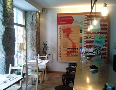 Restaurante Vietnam 24 Zona de barra Te Veo en Madrid