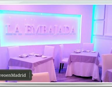 Restaurante La Embajada restaurante cocina meditarranea  Te Veo en Madrid