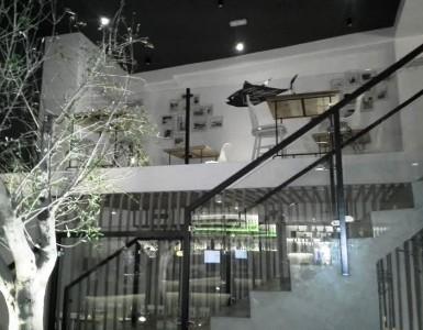 Restaurante Macarela acceso a comedor Te Veo en Madrid