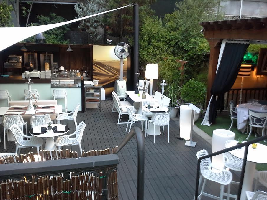 El jard n del hotel miguel ngel te veo en madridte veo for El jardin restaurante madrid