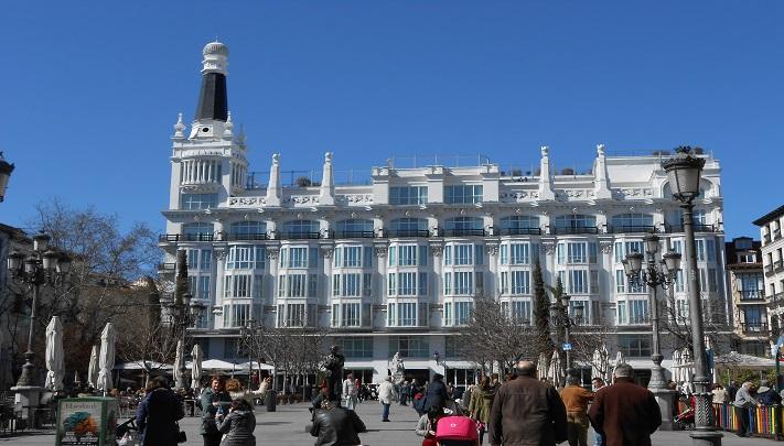 Madrid Plaza de Santa Ana Te Veo en Madrid