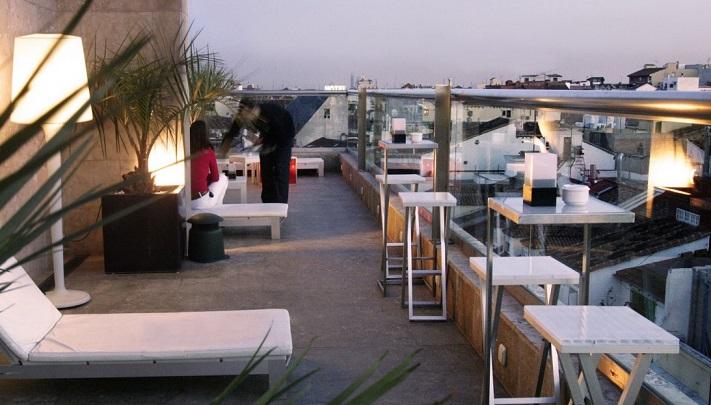 Las 24 mejores terrazas de azotea de madridte veo en for Design hotel urban madrid