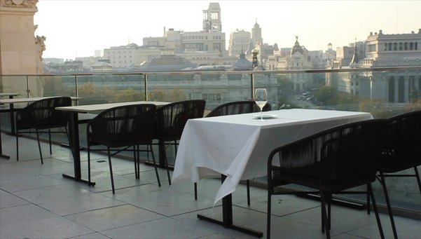 El Ayuntamiento De Madrid Terraza Restaurante Palacio