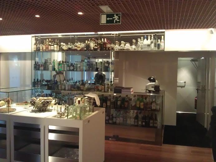 Restaurante Aldaba tras la reforma zona de barra Te Veo en Madrid
