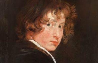 Van-Dyck-Autorretrato en el museo del prado