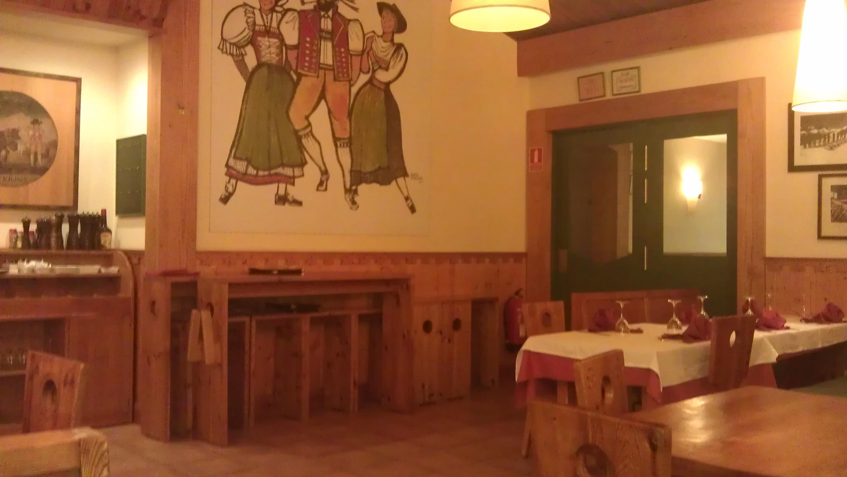 Restaurante el chalet suizo
