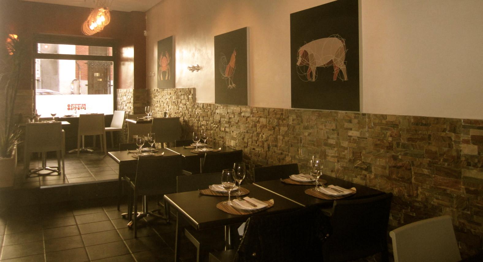 Restaurante Metro Bistro Madrid Te Veo en Madrid