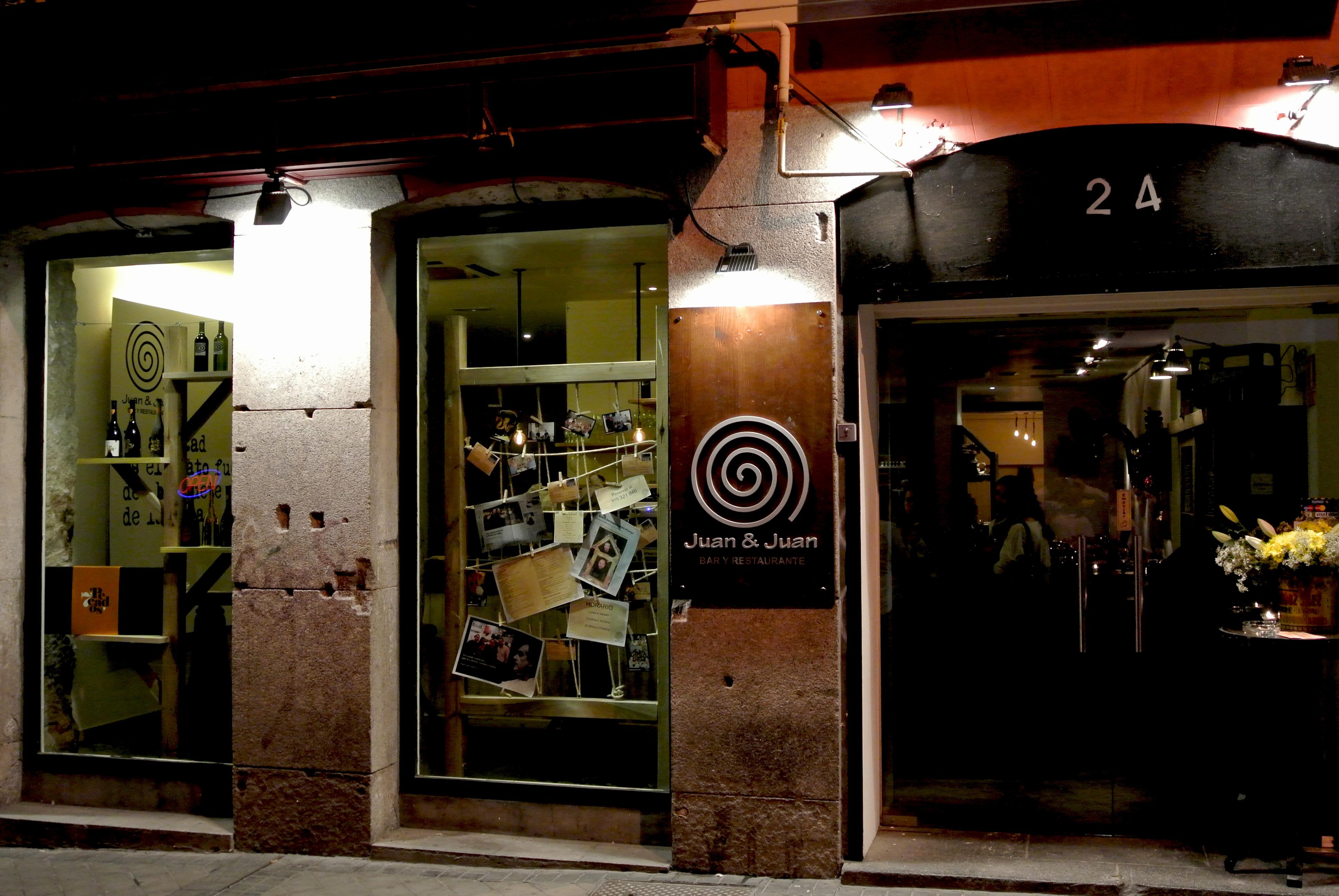 Juan & Juan Fachada Restaurante Madrid