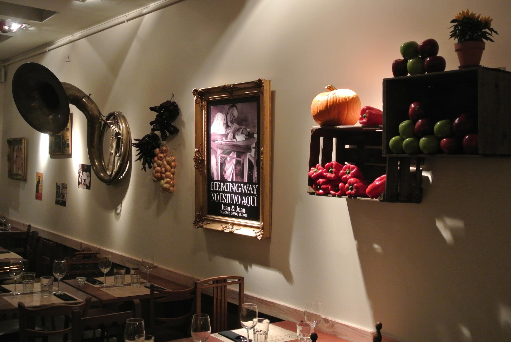 Juan & Juan Restaurante Madrid