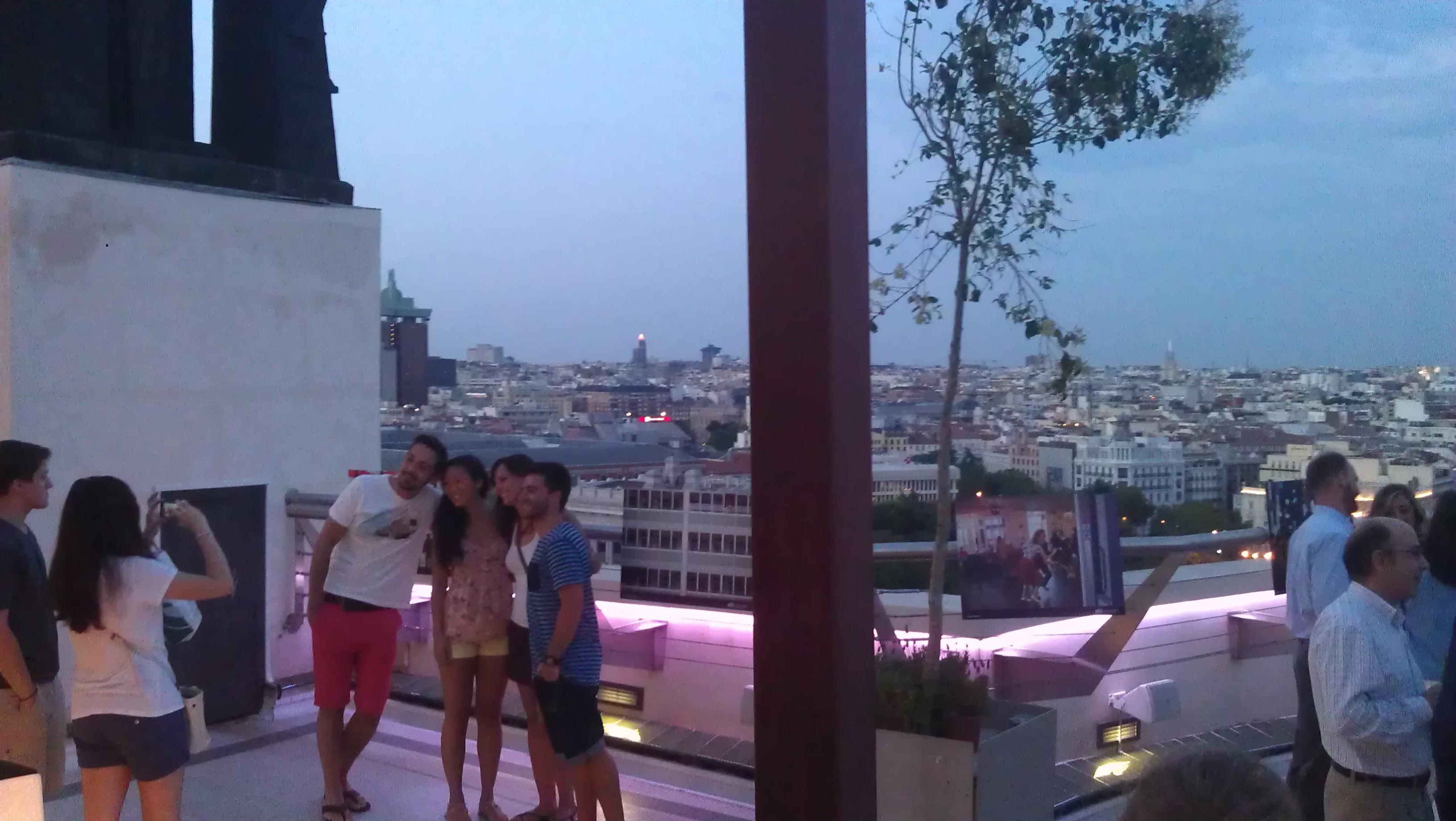 Tartan Roof Te Veo en Madrid