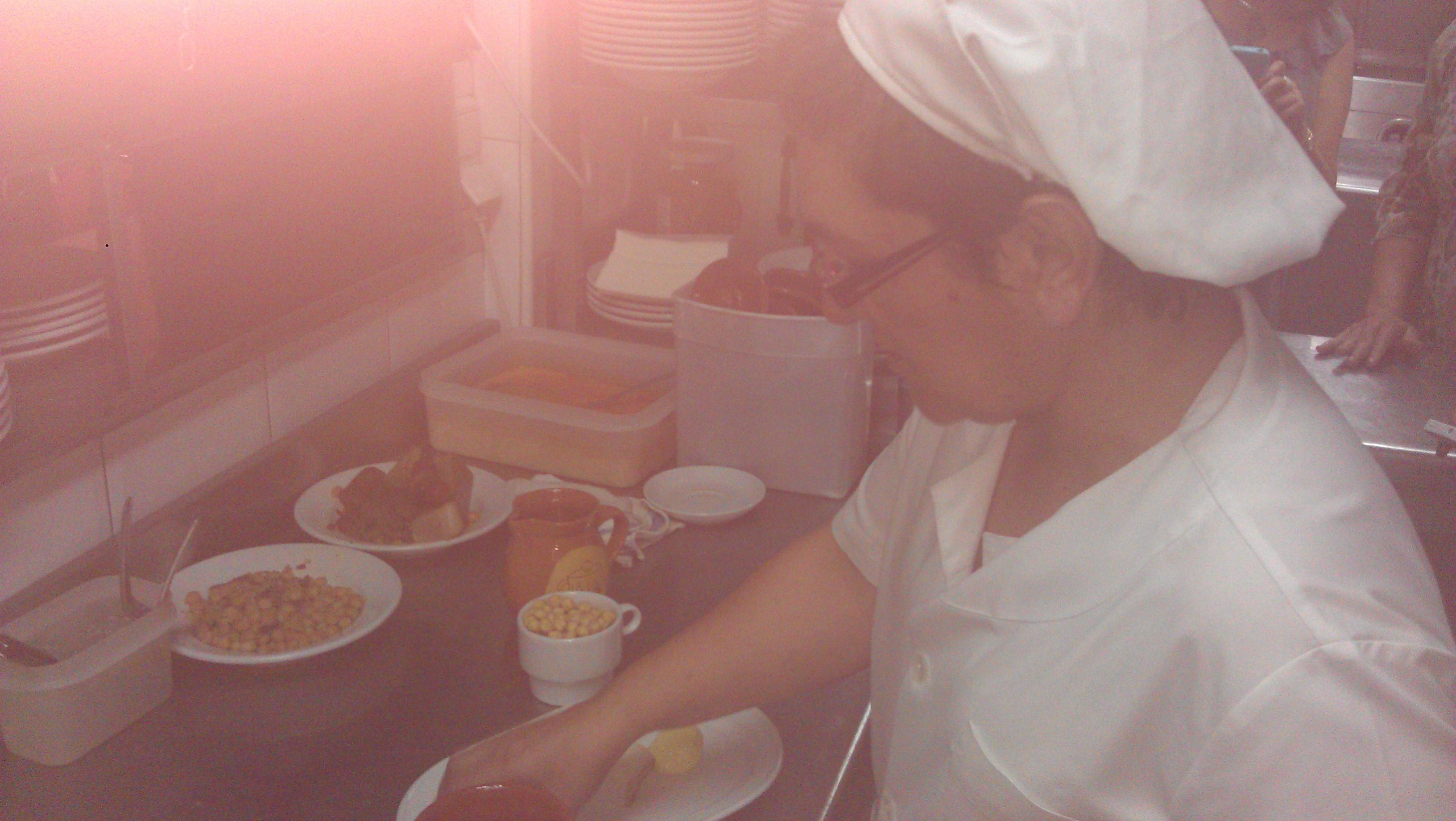 cocinera de la Bola