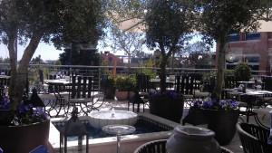 DuLiban terraza Te Veo en Madrid