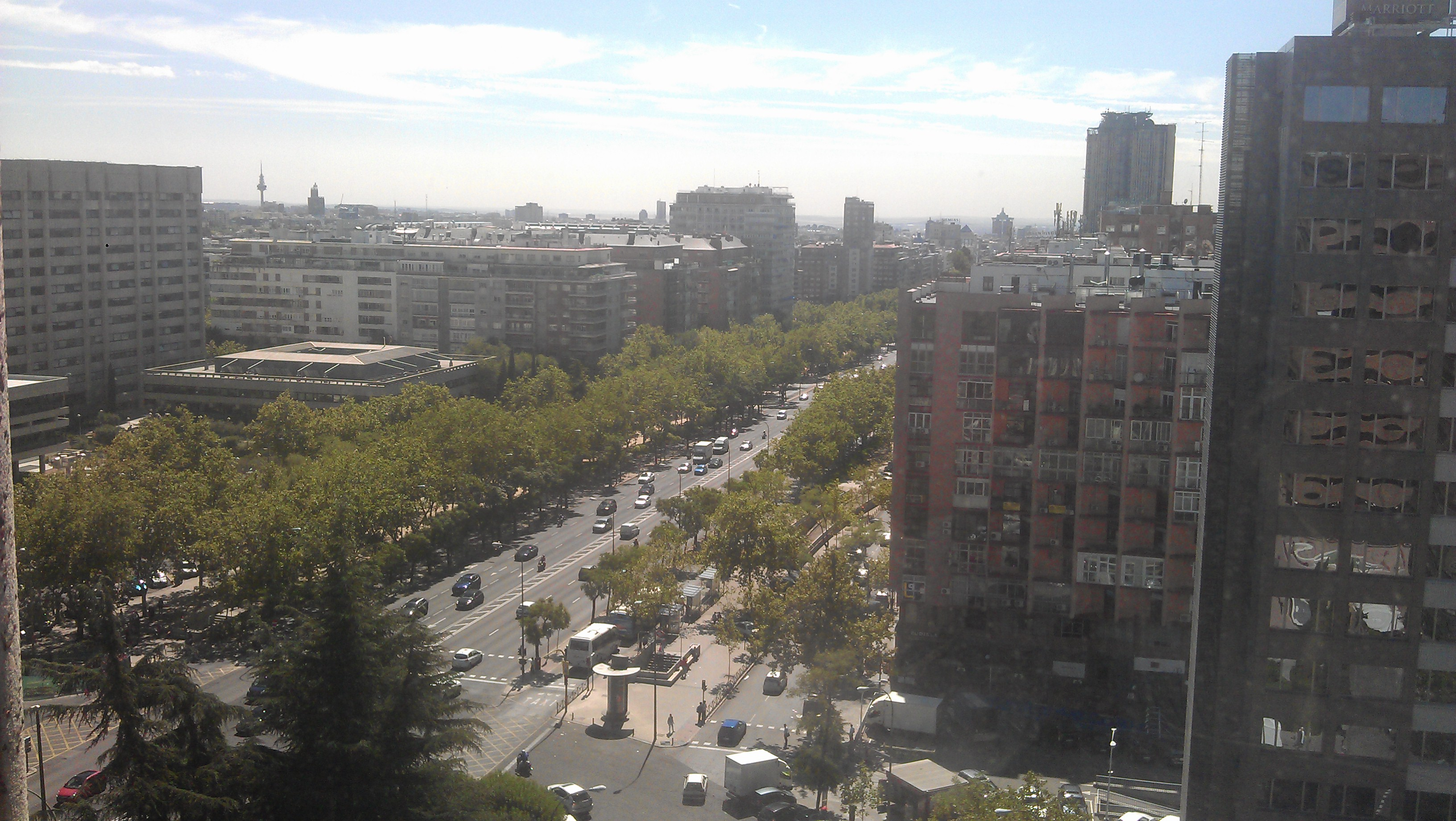Madrid desde mi trabajo