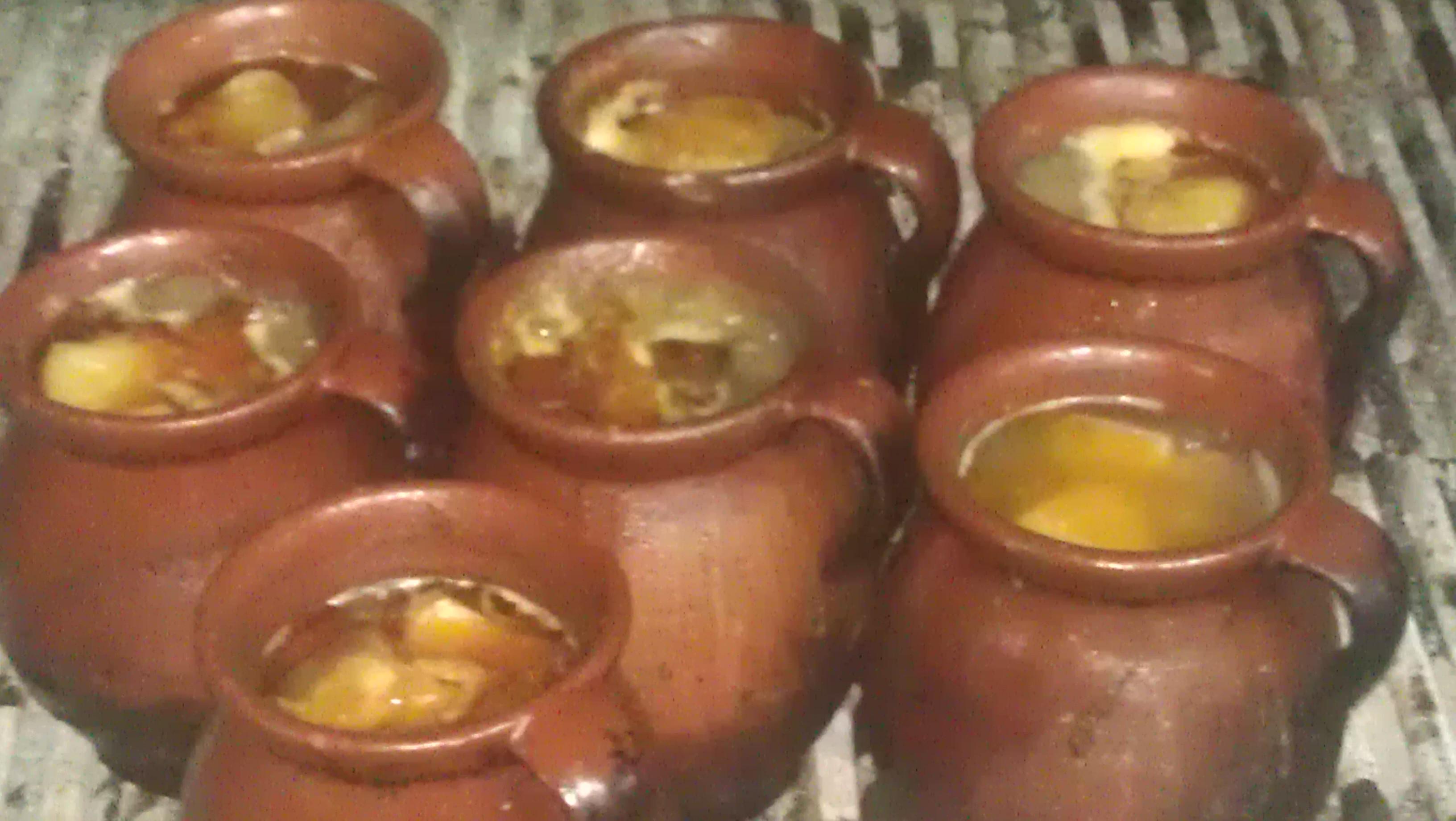 Pucheros con cocido de La Bola