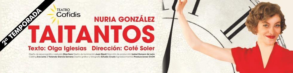 Cartel de Taitantos Te Veo en Madrid