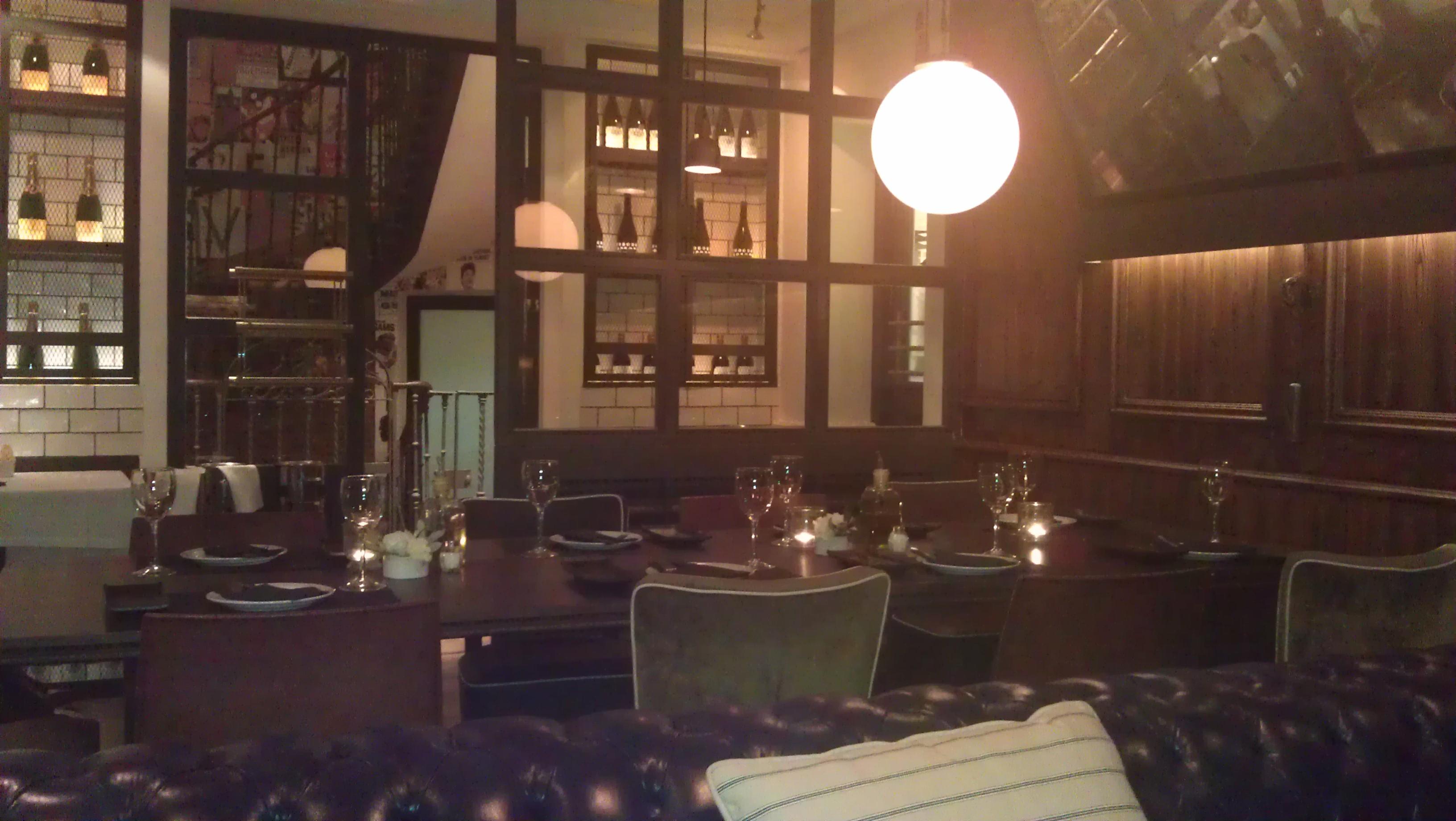 Restaurante Ateneo comedor Te Veo en Madrid