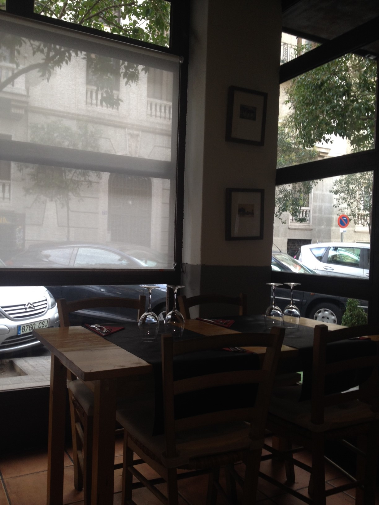 Restaurante sempre caldo esquina comedor Te Veo en Madrid