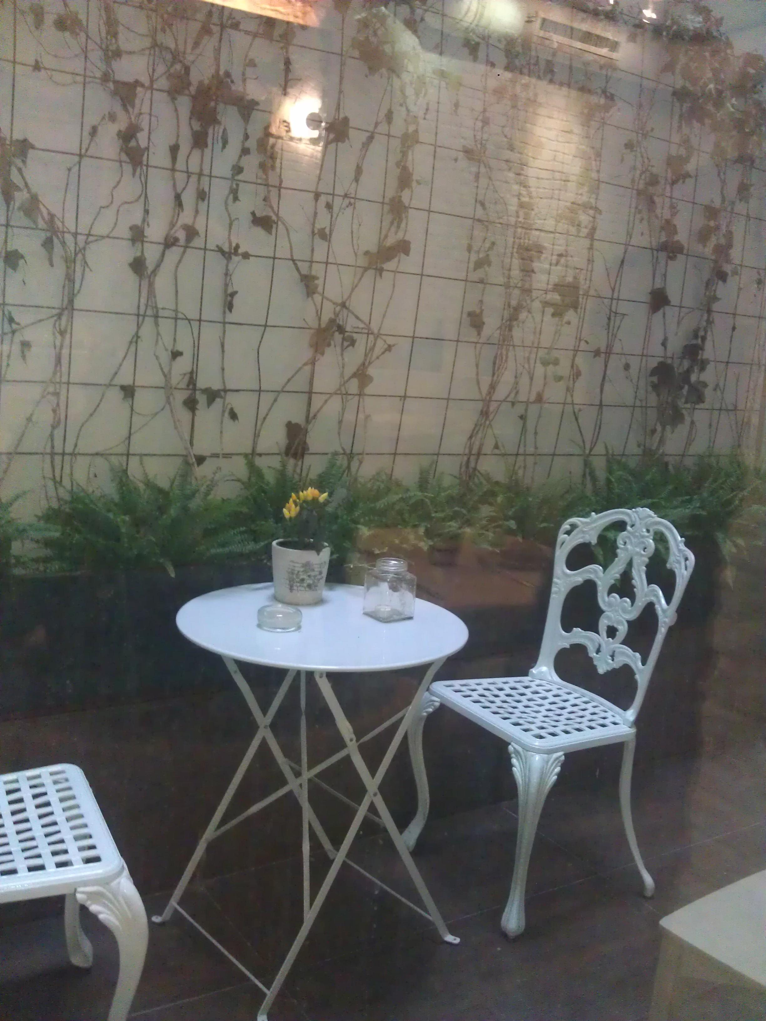 Restaurante Villodo patio Te Veo en Madrid