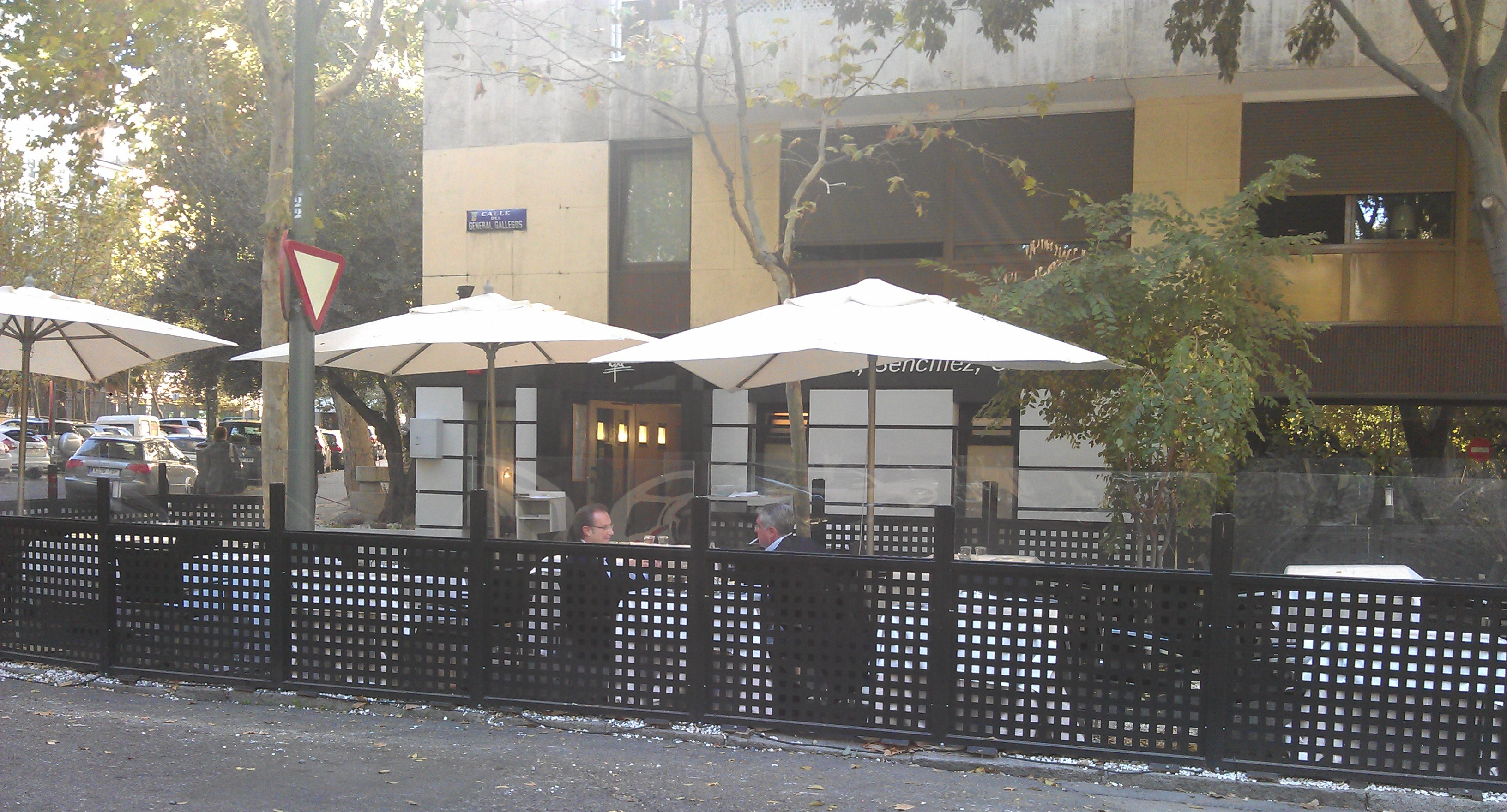 terraza de Pepa Restaurante Te Veo en Madrid