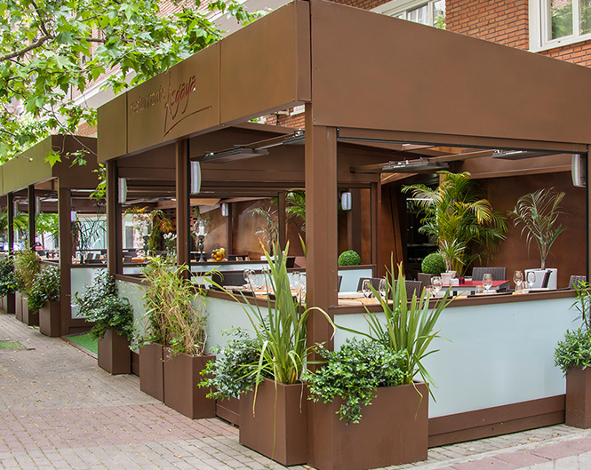 Asgaya un asturiano moderno con platos de siempre te for Restaurantes con terraza madrid