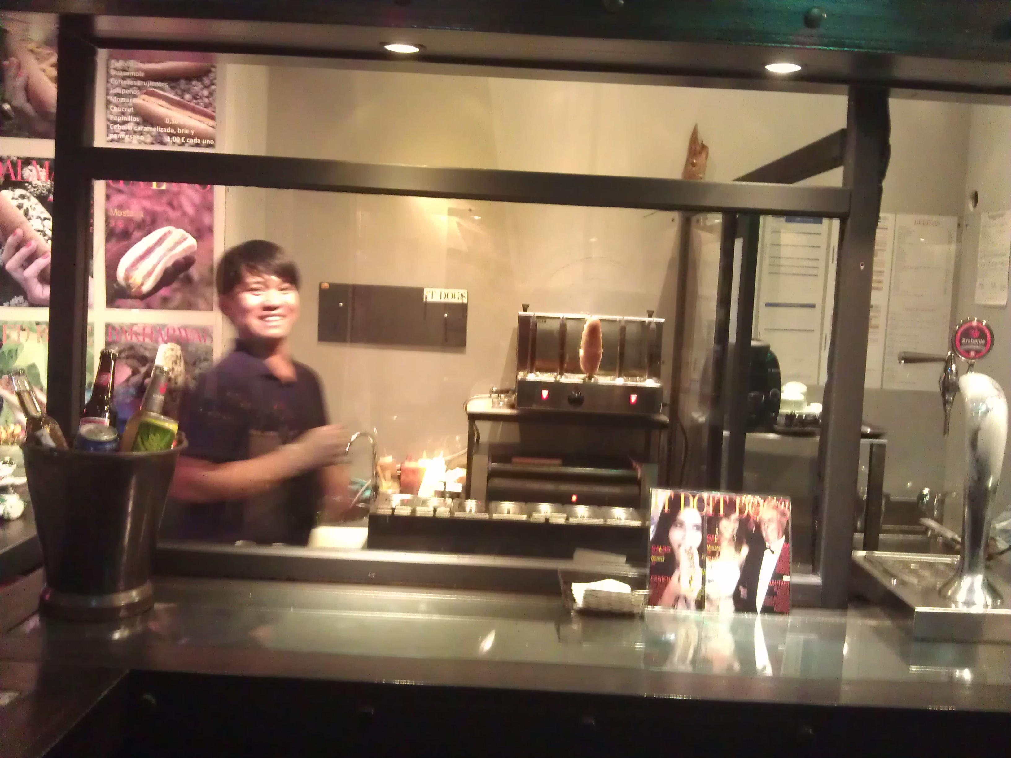 Restaurante it dogs Te Veo en Madrid