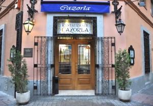 Restaurante Cazorla calle castelló Madrid
