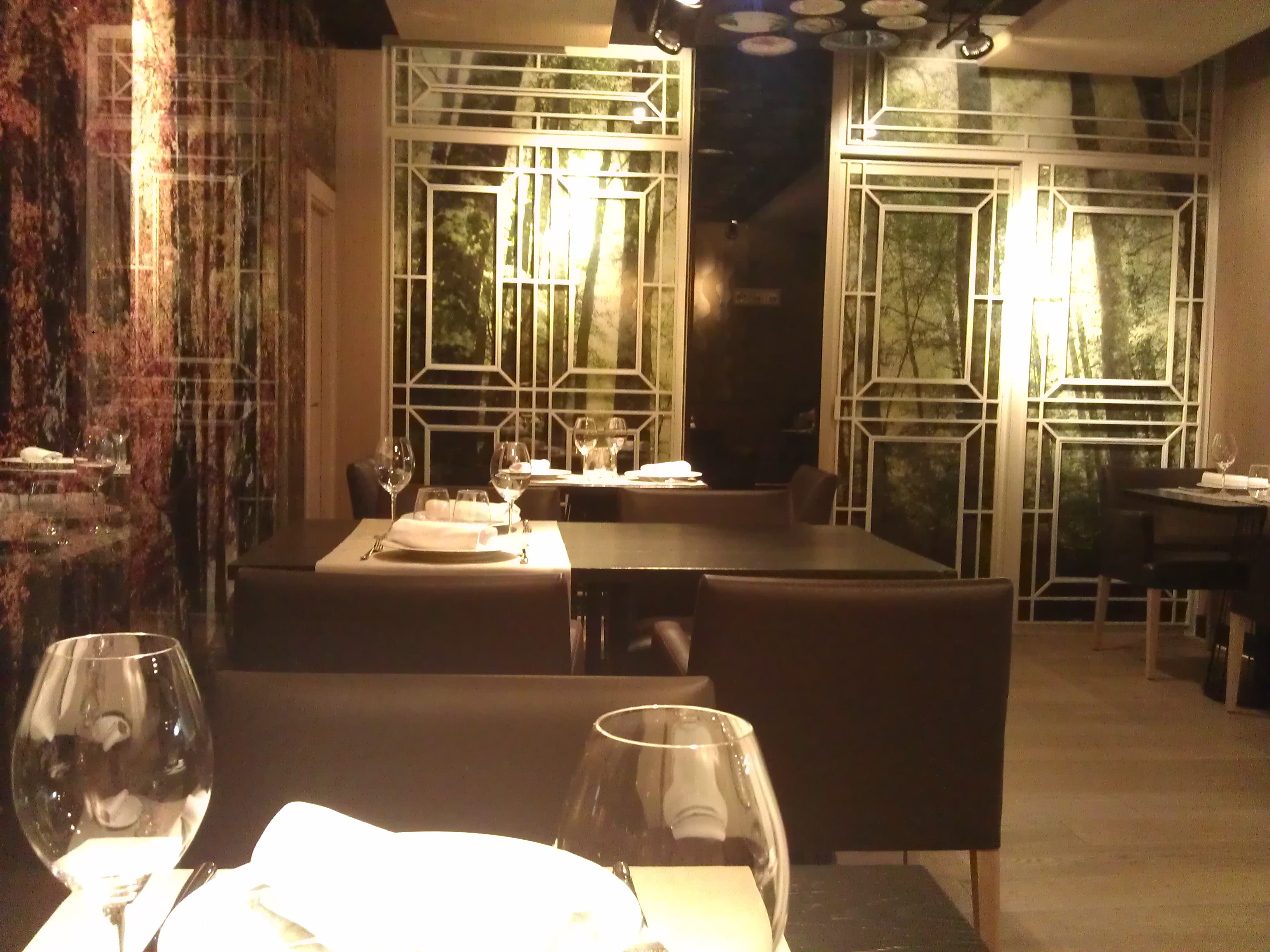 Restaurante Eguinoa comerdor Te Veo en Madrid