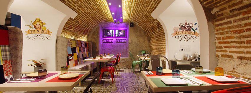Restaurante La Ccava zona de comedor