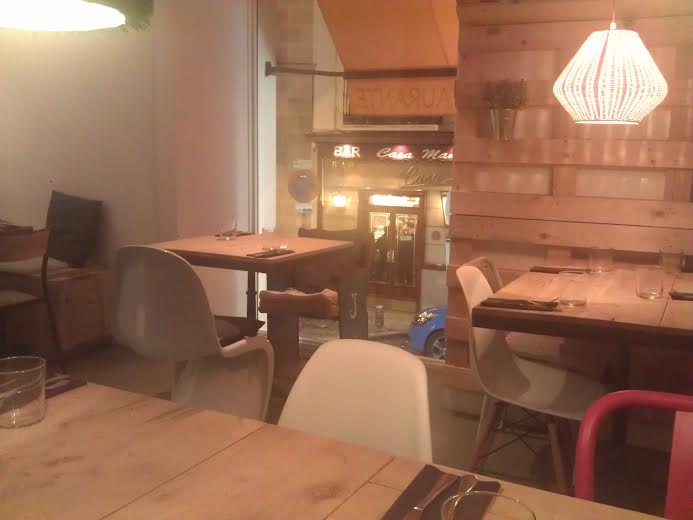 Restaurante Mr. Frank comedor Te Veo en Madrid