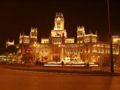 Ayuntamiento de Madrid (Palacio de Cibeles) Te Veo en Madrid
