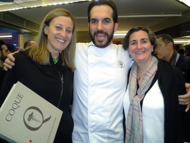 Presentación libro Coque  con Mario Sandoval y Pepa