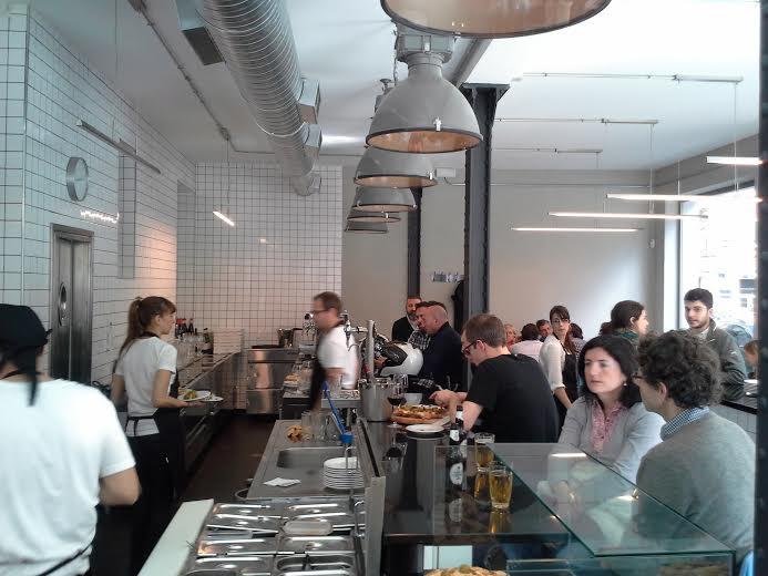 Restaurante Pizzria Picsa barra Te Veo en Madrid