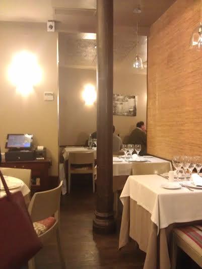 Restaurante Ponzano rincon de la sala Veo en Madrid