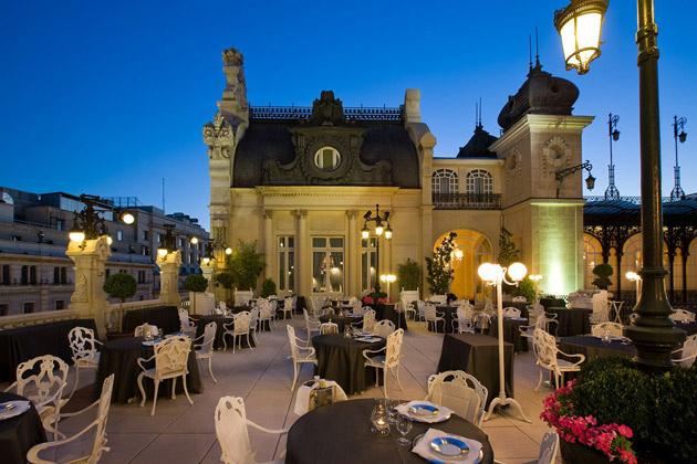 Restaurante terraza del casiono de Madrid Te Veo en Madrid