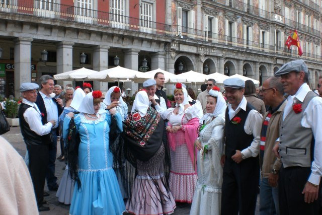 Chulapos en San Isidro