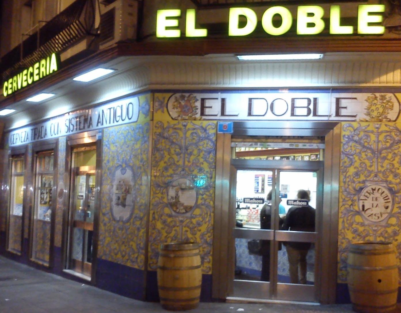 El Doble cervecería Te Veo en Madrid