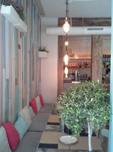 Restaurante Le Coco desde el ventanal Te Veo en Madrid