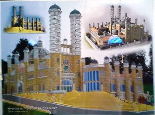 Catedral Mejorada del Campo diseño de cómo será Te Veo en Madrid