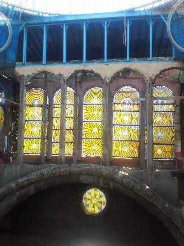 Catedral Mejorada del Campo vidrieras Te Veo en Madrid