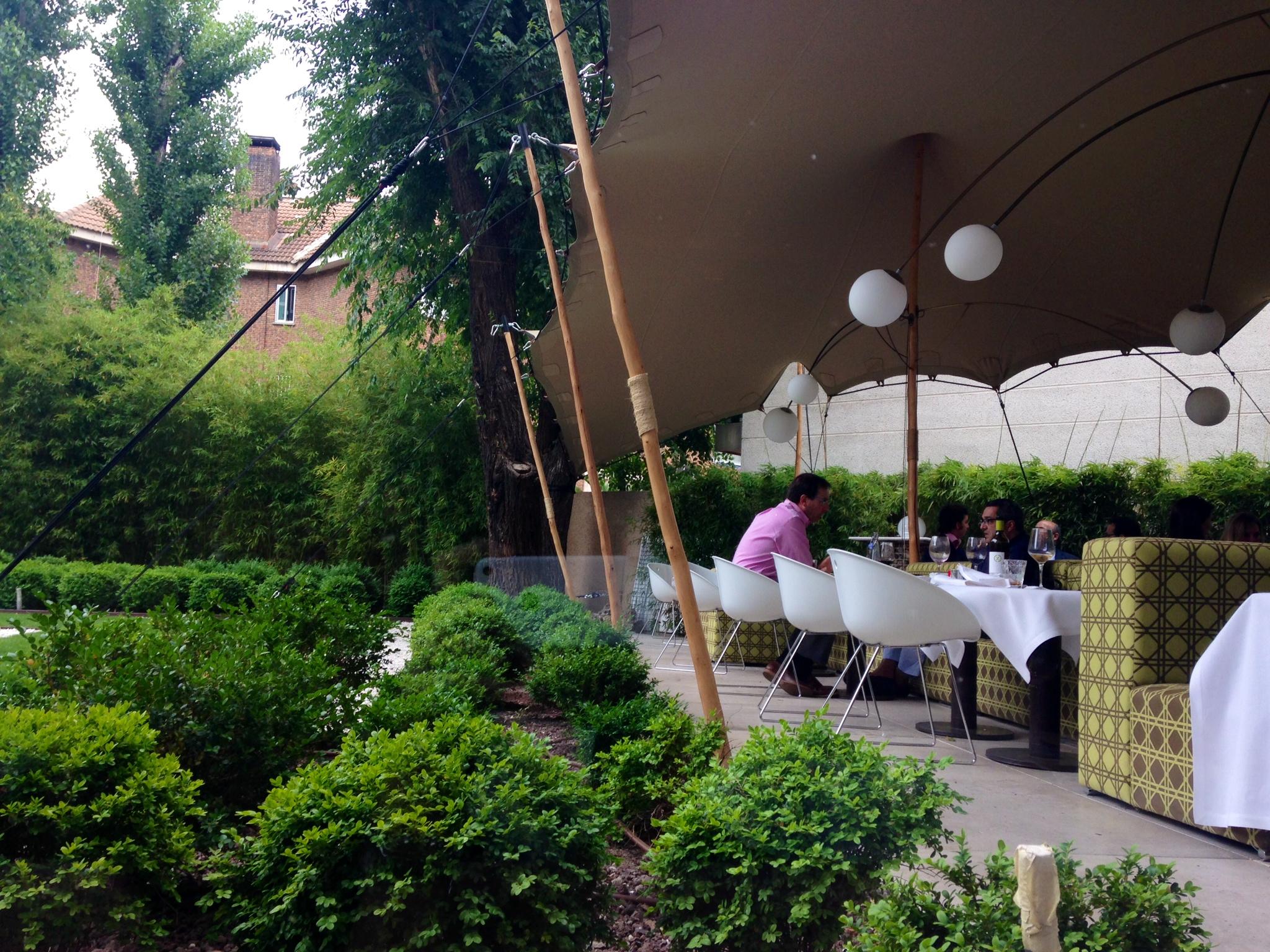 Restaurante the hall terraza de día Te Veo en Madrid